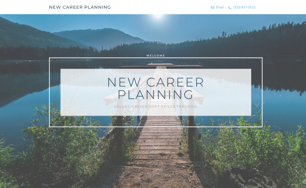 New Career Planning